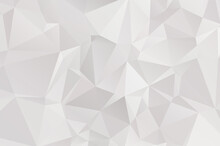 Abstract Lowpoly Vector Gray B...