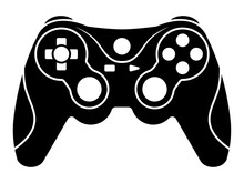 Xbox Video Game Controllers Or Gamepad Flat Icon For Apps And Websites