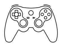 Xbox Video Game Controllers Or Gamepad Line Art Icon For Apps And Websites