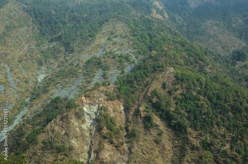 Beautiful Natural Location Dharamshal Himachal Pradesh India Canvas Print