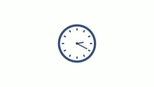 Amazing Counting Down Clock Icon On White Background,clock Image