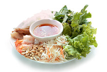 Salad Shrimp, Pork And Mix Veg...