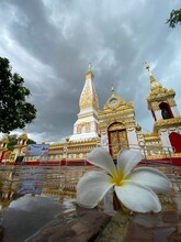 Wat Pra Thad Phanom Buddhist Temple Nakorn Phanom Province  Thailand 1 Jun 2020