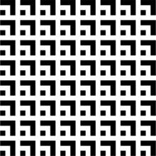 Geometric Square Vector Patter...