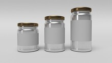 Set Of Glass Jars For Canning ...