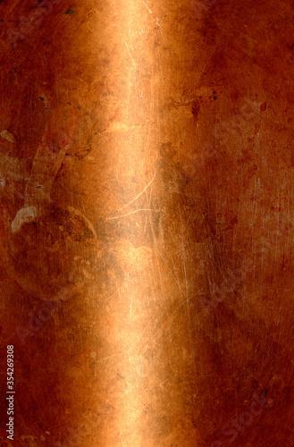 Obraz copper - fototapety do salonu