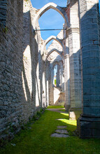 St Katarina Church Is The First Fransiscan Monestary In Sweden, It Was Built Around The Year 1235, Its Laying In The Heart Of The Old Town Of Visby On Island Of Gotland In Sweden