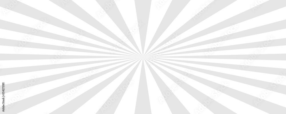 Fototapeta Sun rays background. Sun rays white. Vector illustration