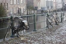 Canal En Brujas Bélgica
