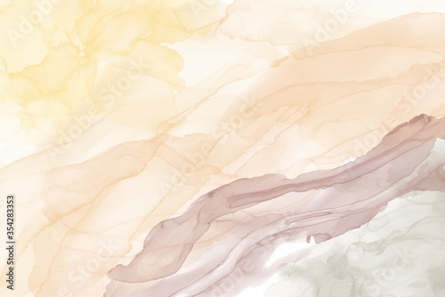 Fototapeta Abstract background. Water Alcohol Ink Design Stone Marble Texture Liquid Artistic Painting Natural Luxury of gold powder obraz