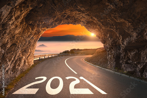 2021 year with light at the end of the tunnel