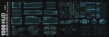 HUD Elements Pack. Big Set Vec...