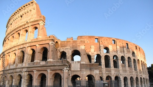 Fotografering colosseum in rome italy
