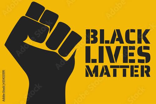 Fotografiet Black Lives Matter concept