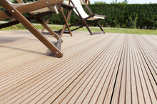Wooden Decking Outside Floor