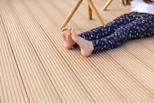 Wooden Decking Outside Floor