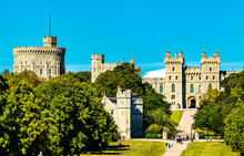 View Of Windsor Castle From Th...