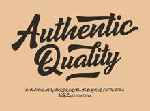 """""""Authentic Quality"""" Original B..."""