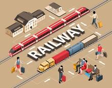 Isometric Railway Flowchart