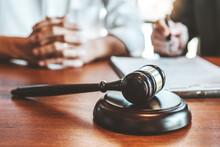 Judges Male Lawyers Consultati...