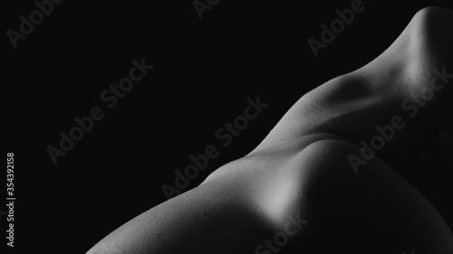 Obraz Bodyscape. Dettagli del corpo di una donna - fototapety do salonu