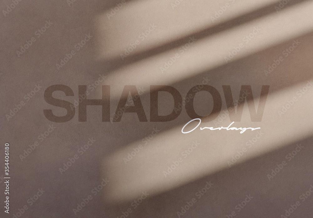 Fototapeta Shadow Overlay Mockups