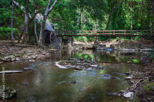 The Old Mill in Alabama Canvas Print