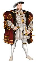 Tudor King Henry VIII Vector