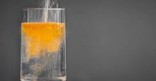Powdered Orange Drink Mix Bein...