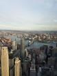Bird view of New York City