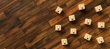 Cubes With Lightbulb Symbols O...
