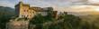 canvas print picture - Fosdinovo old castle