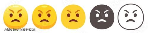 Photo Grumpy emoji