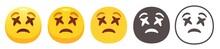 Dizzy Emoji. Yellow Face With ...