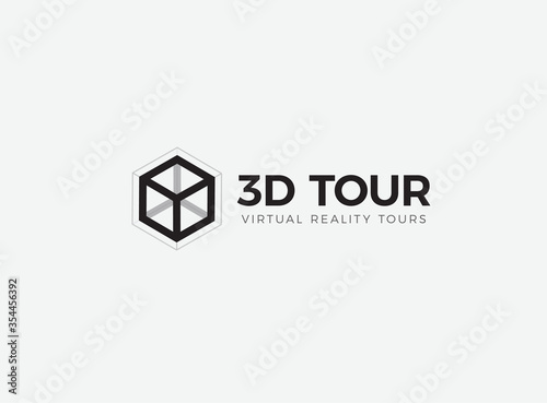 Fotografija 3D room,house,flat,apartment tour logo