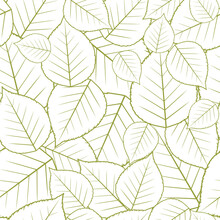 Seamless Pattern With Autumn L...