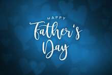 Happy Father's Day Cursive Tex...