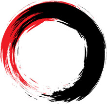 Enso Vector Symbol. Chinese St...