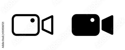 Fototapeta kamera ikona obraz