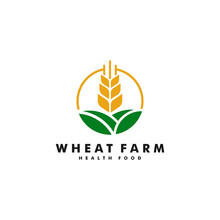 Wheat Farm Logo Design, Agricu...