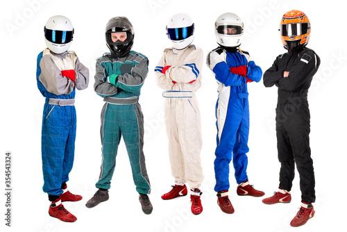 Fotografering Racing drivers
