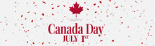 Canada Day Banner Or Header Ba...