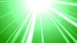 Leinwandbild Motiv abstract green background with rays