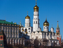 MOSCOW RUSSIA KREMLIN IVAN THE GREAT BELL TOWER