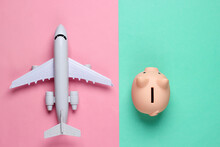 Save Up For Air Travel. Piggy ...