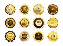 Premium Quality Medals Set. Go...
