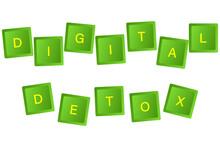 Digital Detoxification.Keyboar...