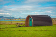 Camping Pod By The Sea On The West Coast Of Scotland