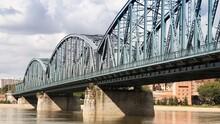 Truss Bridge In Torun - Poland Landmarks