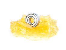 Ball Bearing With Yellow Greas...